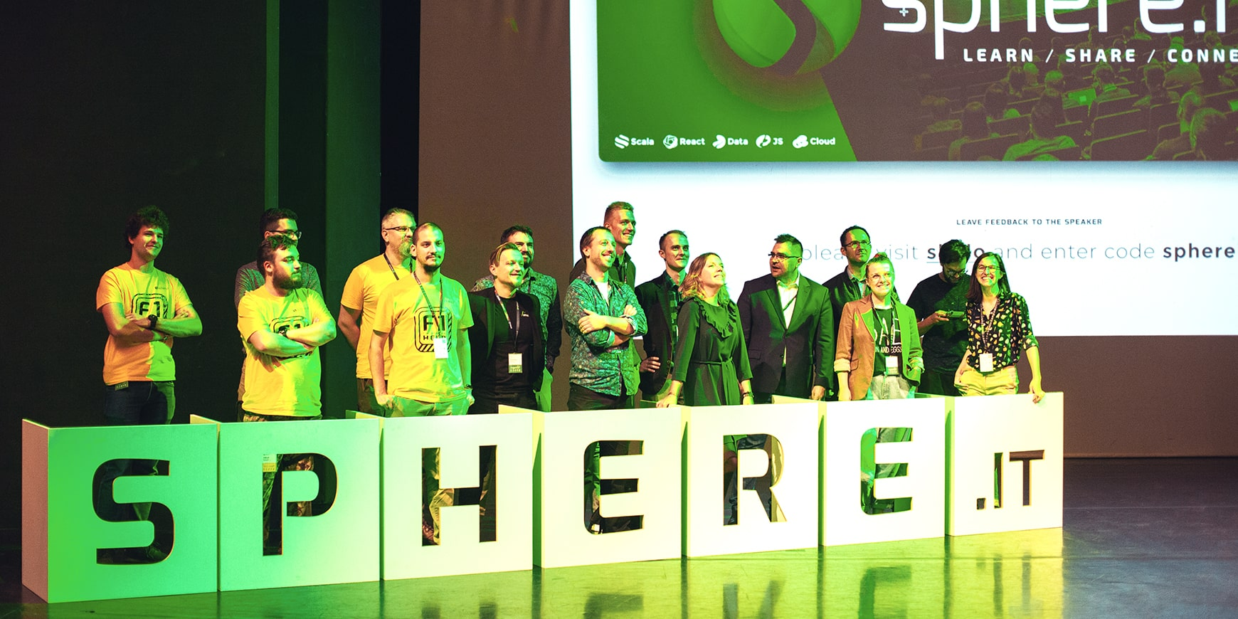 Sphere.it conference, Scala